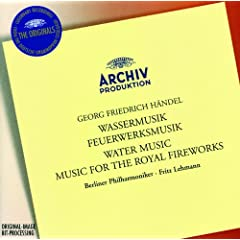 George Frideric Handel: Water Music Suite No.1 in F, HWV 348 - 17. Menuet