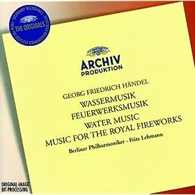 Handel: Water Music / Music for the Royal Fireworks - Lehmann