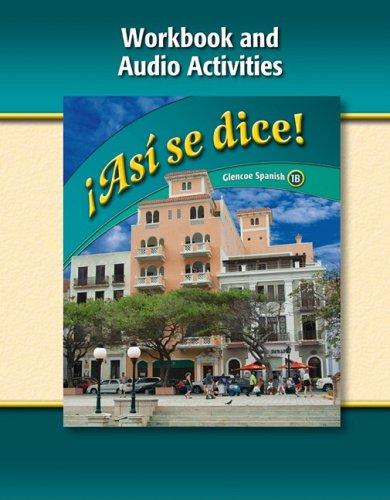 Bienvenidos 1B Glencoe Spanish Spanish Edition Download