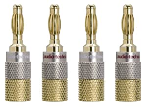 audio-technica ソルダーレスバナナプラグ AT6302