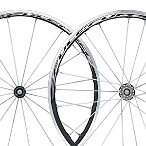 Fulcrum Racing 1 HG Black/Silver Clincher Set
