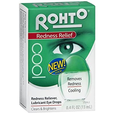 Rohto Cool Redness Relief 0.4 Fl Oz