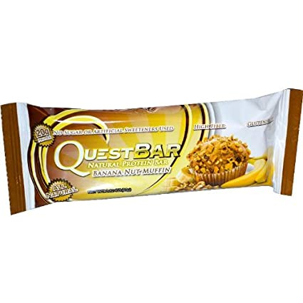 Отзывы QuestBar Protein Bar, Banana Nut Muffin, 12 Count
