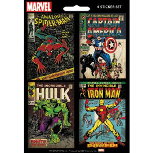 Marvel Comics Mini Sticker Pack