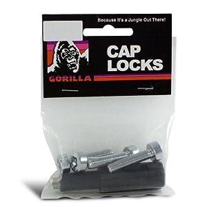 Gorilla Automotive 781S 8mm Flat Seat Cap Lock