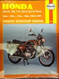 Honda 125/160/175 Twins Owner's Workshop Manual (Motorcycle Manuals) Jeff Clew