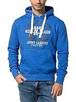 Jimmy Sanders Sudadera con Capucha (Azul)