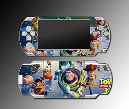 Toy Story 3 Woody 1 Buzz 3D game Decal Cover SKIN #2 for Sony PSP 1000 Playstation Portable