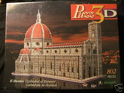 Cheap Fun Wrebbit Puzz 3D Il Duomo Cathedral of Florence 802 Pieces (B001OA3O5S)