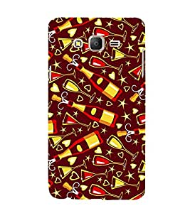 Beer Design 3D Hard Polycarbonate Designer Back Case Cover for Samsung Galaxy On5 Pro :: Samsung Galaxy ON 5 Pro