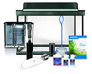 Marina Style 5 Glass Aquarium Kit - 5 Gallons