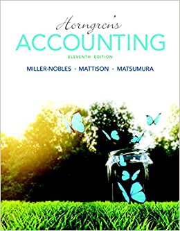 Horngren's Accounting Plus MyAccountingLab With Pearson EText -- Access Card Package (11th Edition)