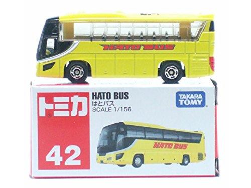TOMY Tomica #42 Isuzu Gala Hato Bus 1/156 Diecast Car - 1