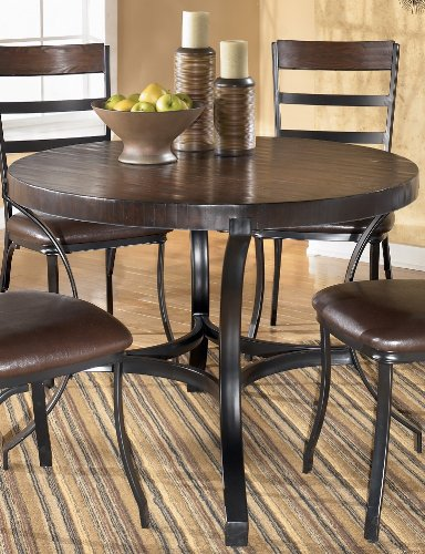 Buy Low Price Signature Design by Ashley Dorian Round Dinette Set (D346-225-225T)