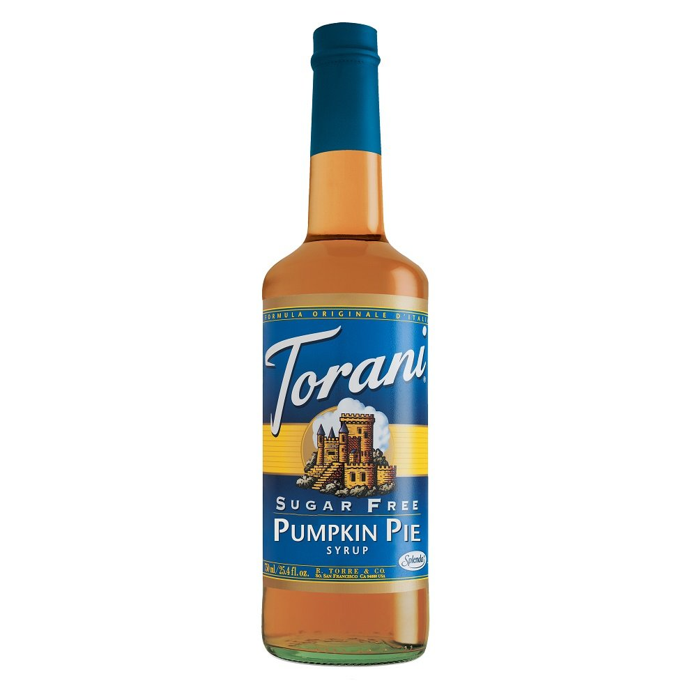 Torani® Pumpkin Pie Syrup Sugar Free at Amazon.com
