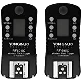 YONGNUO RF605C Wireless Flash Trigger Drahtlose Blitzauslöser Auslöser 16 Kanäle für Canon Kameras