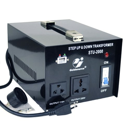 Goldsource STU 2000 Voltage Transformer Converter