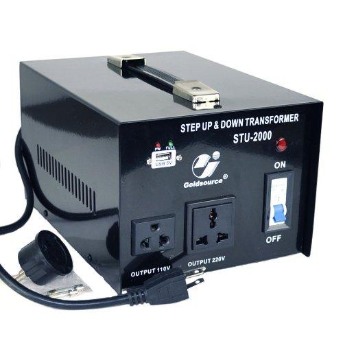 Goldsource STU 2000 Voltage Transformer Converter