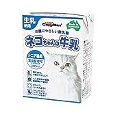 キャティーマン (CattyMan) ネコちゃんの牛乳 シニア猫用 200ml×24個入り 【ケース販売】