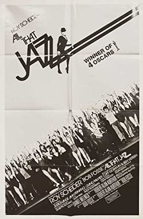 ALL THAT JAZZ 1980 Original U.S. One Sheet Movie Poster Bob Fosse Roy Scheider