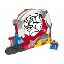 MARVEL SPIDER-MAN ADVENTURES PLAYSKOOL HEROES STUNTACULAR SPEED
