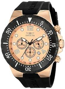 Invicta Men's 16748 SPECIALTY Analog Display Japanese Quartz Black Watch
