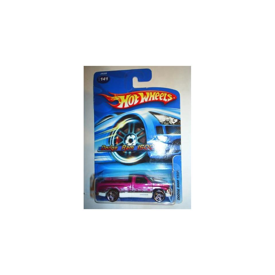 #2006 141 Dodge Ram 1500 Purple Collectible Collector Car Mattel Hot Wheels 164 Scale