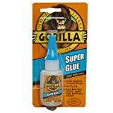 Gorilla Glue 7805001 Super Glue Bottle, 15 Gram