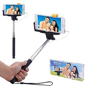 mflo extendable self portrait monopod selfie stick for iphone 6. Black Bedroom Furniture Sets. Home Design Ideas