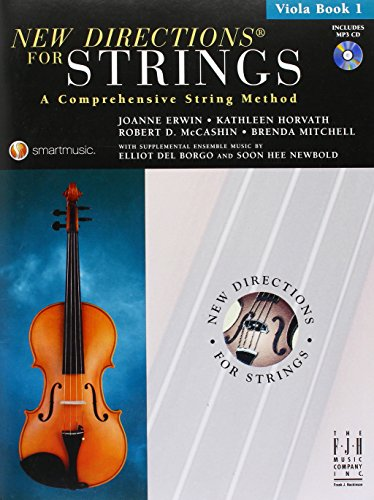 New Directions For Strings: A Comprehensive String Method - Book 1 (Viola) - Partituras, CD