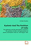 Kashmir and the Partition of India