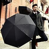 人気 おすすめ 日傘 ! 男性 用 折りたたみ オープン 自動 日傘 晴雨兼用傘 61㎝ 360g カラー ブラック UVカット 【 日傘 】 男 子 メンズ 大きい 折り畳み 傘 黒 色 通販 携帯タオルセット保証書付t39-11