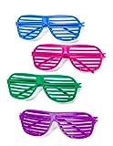 12 Pairs of 80s Shutter Shade Sunglasses