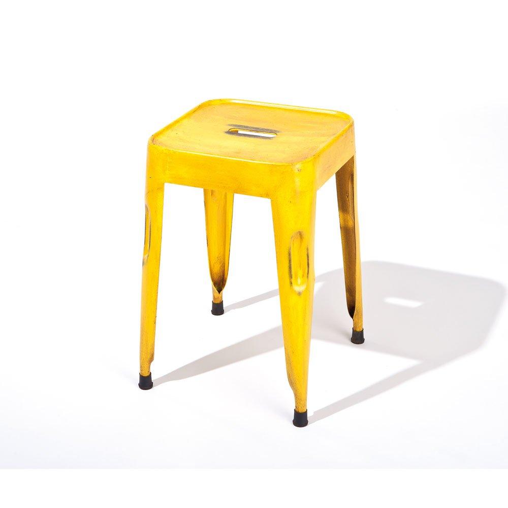 Hocker in Gelb Used Look (4er Set) Pharao24 online kaufen