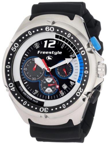 Freestyle Men's FS81324 Hammerhead XL Custom Round Dive 7-Hand Chronograph Watch