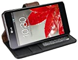 Mumbi Case for LG E975 Optimus G Bookstyle