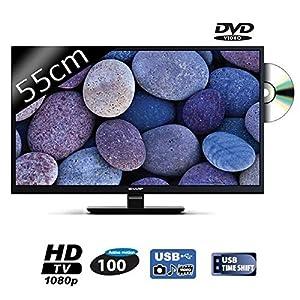 SHARP LC-22DFE4011E TV LED Full HD 55cm avec lecteur DVD intégré