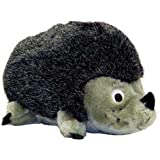 Outward Hound 32024 Hedgehogz Dog Toys Plush Squeak Toy, Junior, Brown