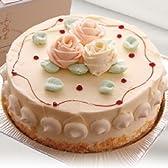 ロリアン洋菓子店 バタークリームケーキ 5号サイズ 直径15cm