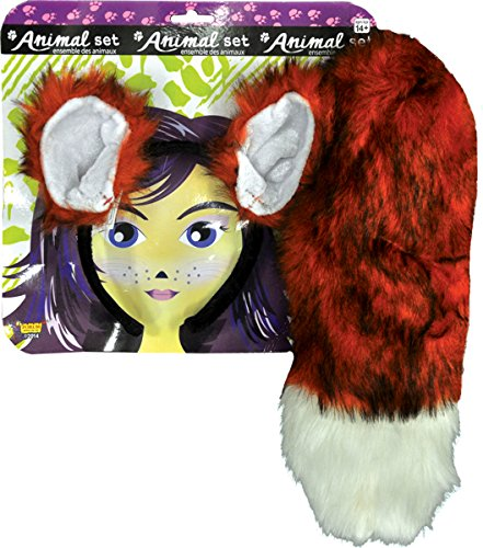 Morris Costumes Women's Fox Ears And Tail Set