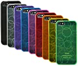 The Friendly Swede TPU Skins Cases Covers Bubble Pattern Design for iPhone 5S / 5 Bundle of 9