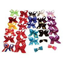 Pet Hair Bows 100ct