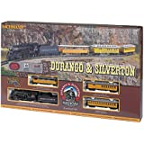 Bachmann Durango and Silverton HO Scale Ready To Run Electric Train Set
