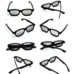 10 x Newest Latest 3D Glasses for 3D...