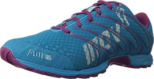 Inov-8 Women's F-Lite 185 Running Shoe,Blue/Purple,9.5 M US