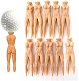 Demarkt® 10pcs Naked Lady Nude Golf Tees