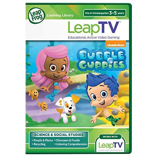 LeapFrog LeapTV Nickelodeon Bubble Guppies Educational, Active Video Game - 1