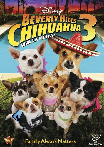 Beverly Hills Chihuahua 3 (2012) - When Papi & co move into a luxurious hotel, his youngest pup Rosa feels neglected and he must show her how special she is.