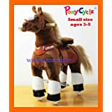 Exercising PONYCYCLE Ride On Horse For Children 3 To 5 Years Old Or Up To 55 Pounds - SMALL PONYCYCL