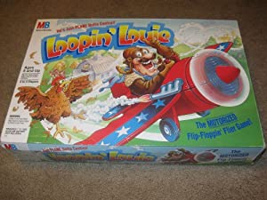 Loopin' Louie Milton Bradley Motorized Flip-Floppin' Flier Game